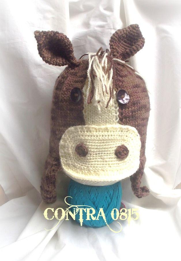 Mützen - Mütze Pferd - ein Designerstück von contra0815 bei DaWanda ...