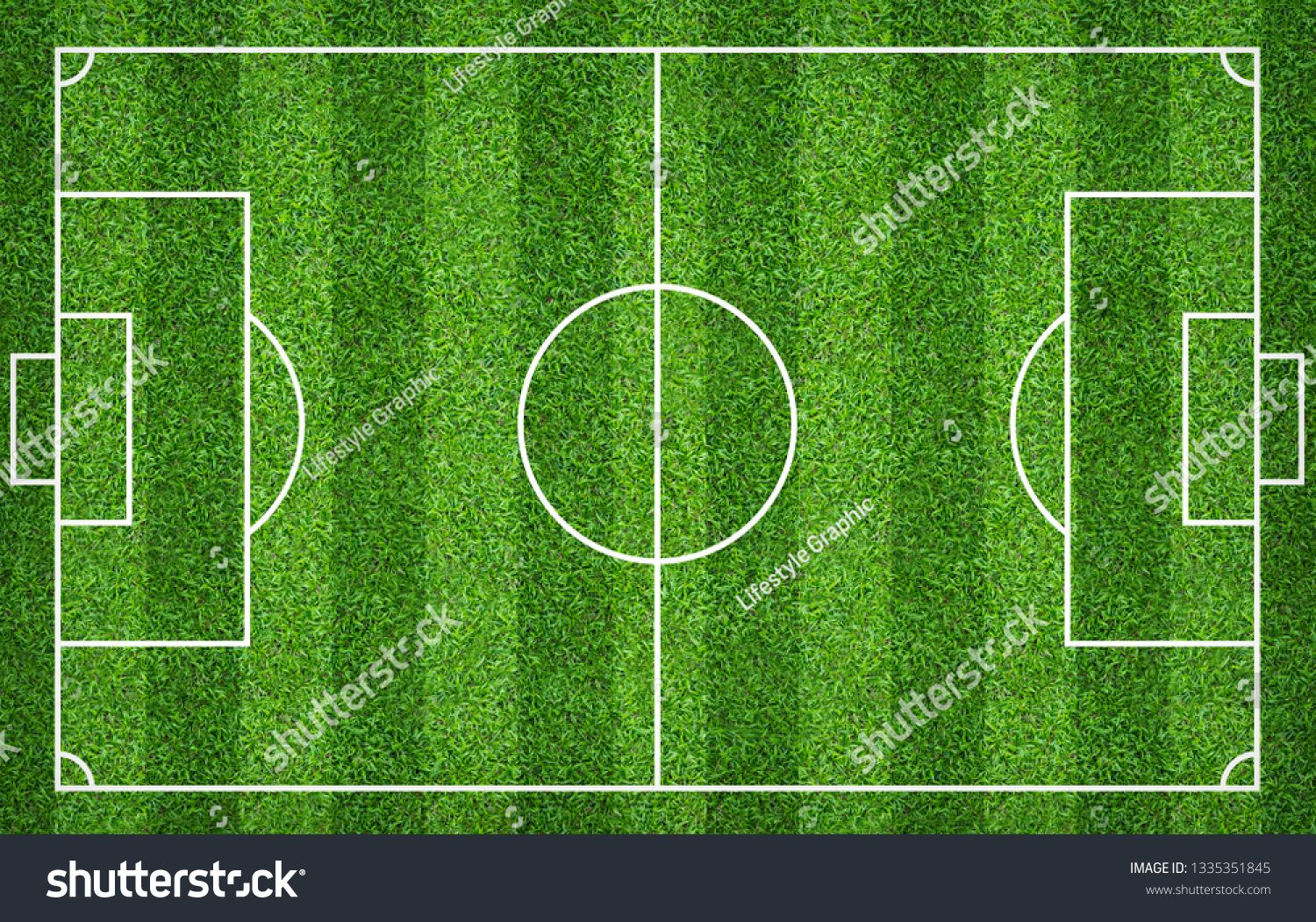 Football Field Or Soccer Field For Background Green Lawn Court For Create Sport Game Ad Affiliate Background Green Soc Football Field Soccer Backgrounds Soccer