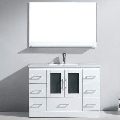 Bathroom Vanities Under $1000 under $1000 complete. the zola bathroom vanity set offers maximum