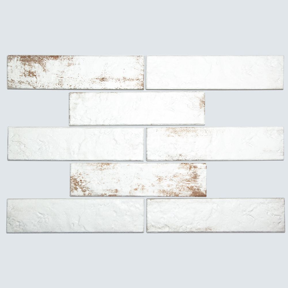Broadway Brick White 3x6 Porcelain Subway Tile Subway Tile