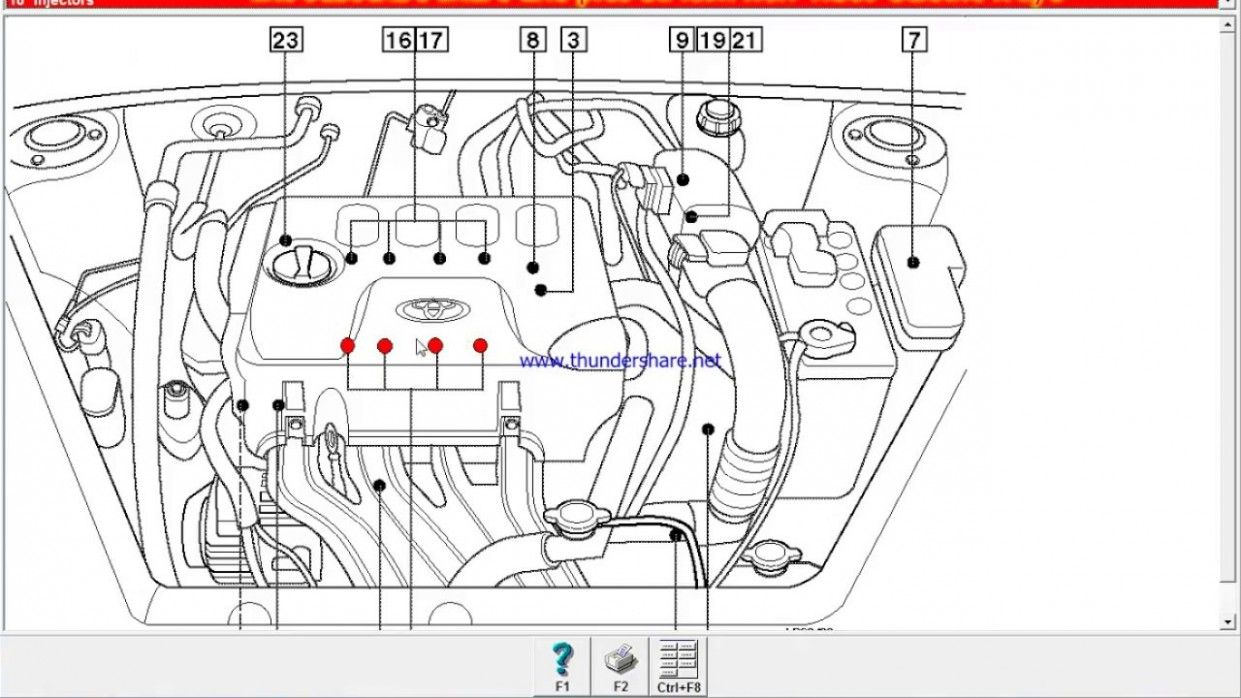 toyota yaris engine bay diagram | yaris, toyota, diagram  pinterest
