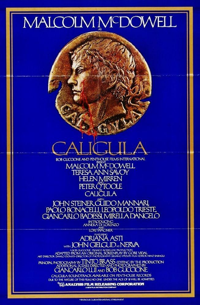 CALIGULA 1979 Italian cult film