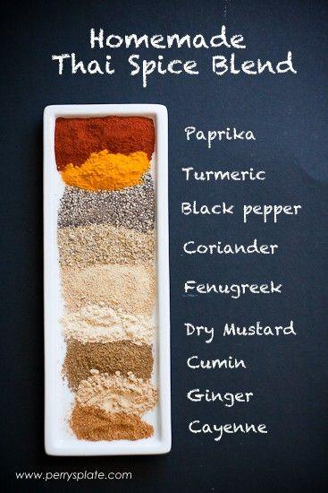 Homemade Thai Seasoning Blend Recipe - Perry's Plate