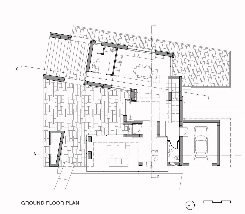 Gallery of villa di gioia pedone working 20 for Plan villa moderne