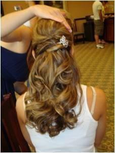 Frisuren abschlussball offene haare
