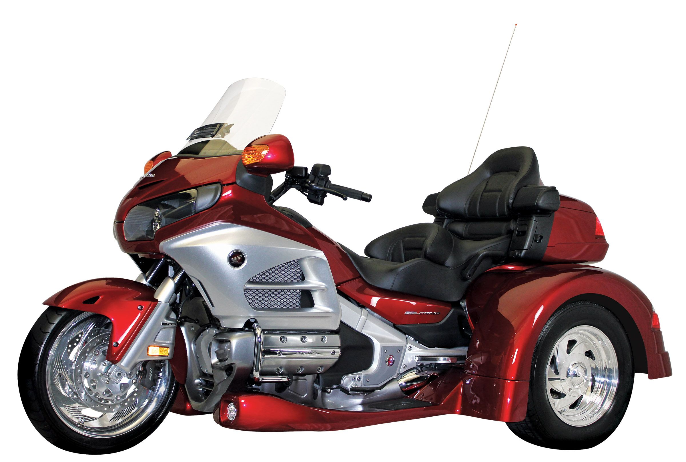 3 wheel honda motorcycles | 2012 Gold Wing Gets 3 Wheels From Motor