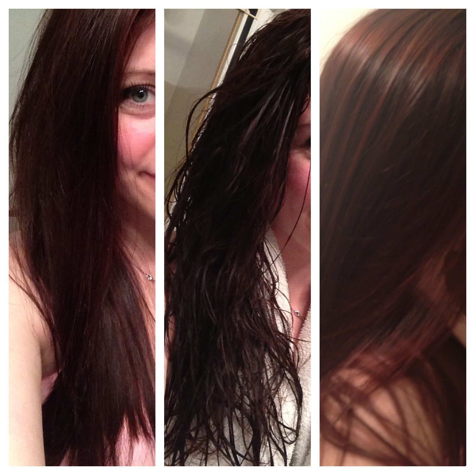 Coconut oil hair before and after httpwwwcoconutoil