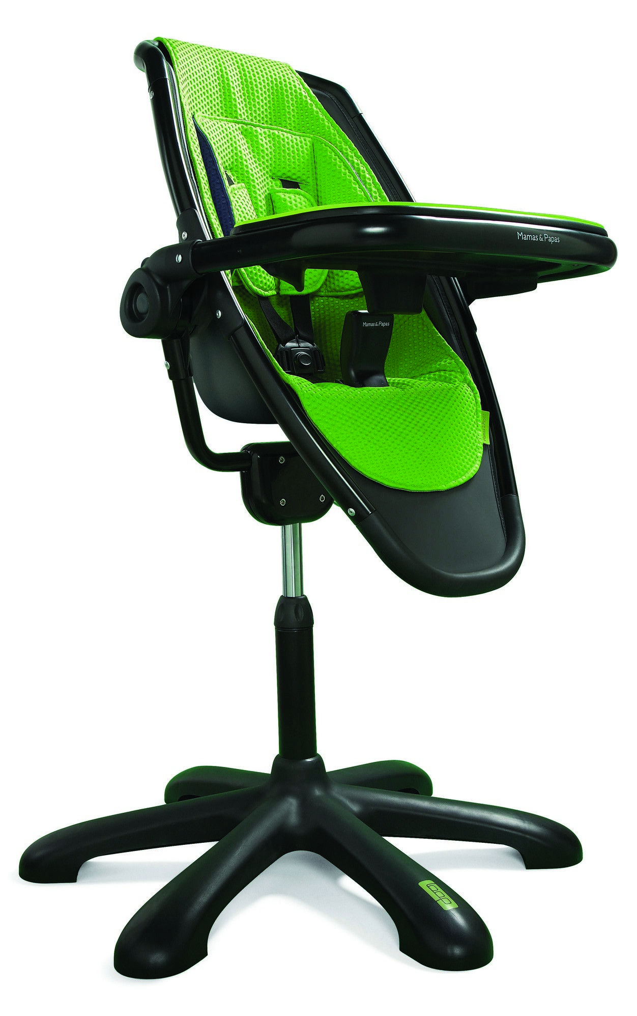 Perfect Mamas U0026 Papas Loop High Chair With Lime Accessory Pack