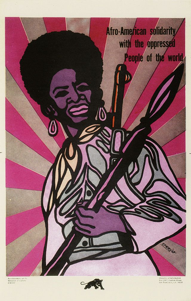 Poster, 1969.                     © 2008 Emory Douglas /  Artists Rights Society (ARS), New York