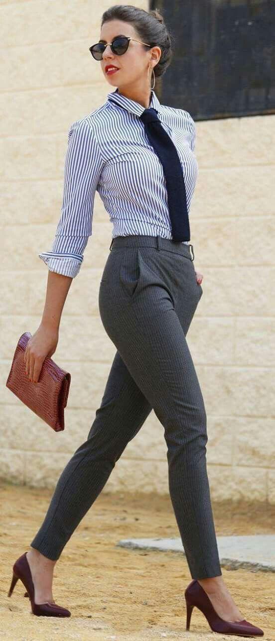 Outfits Formal Juveniles Ropa Pantalones De Vestir Pantalones De Vestir Mujer