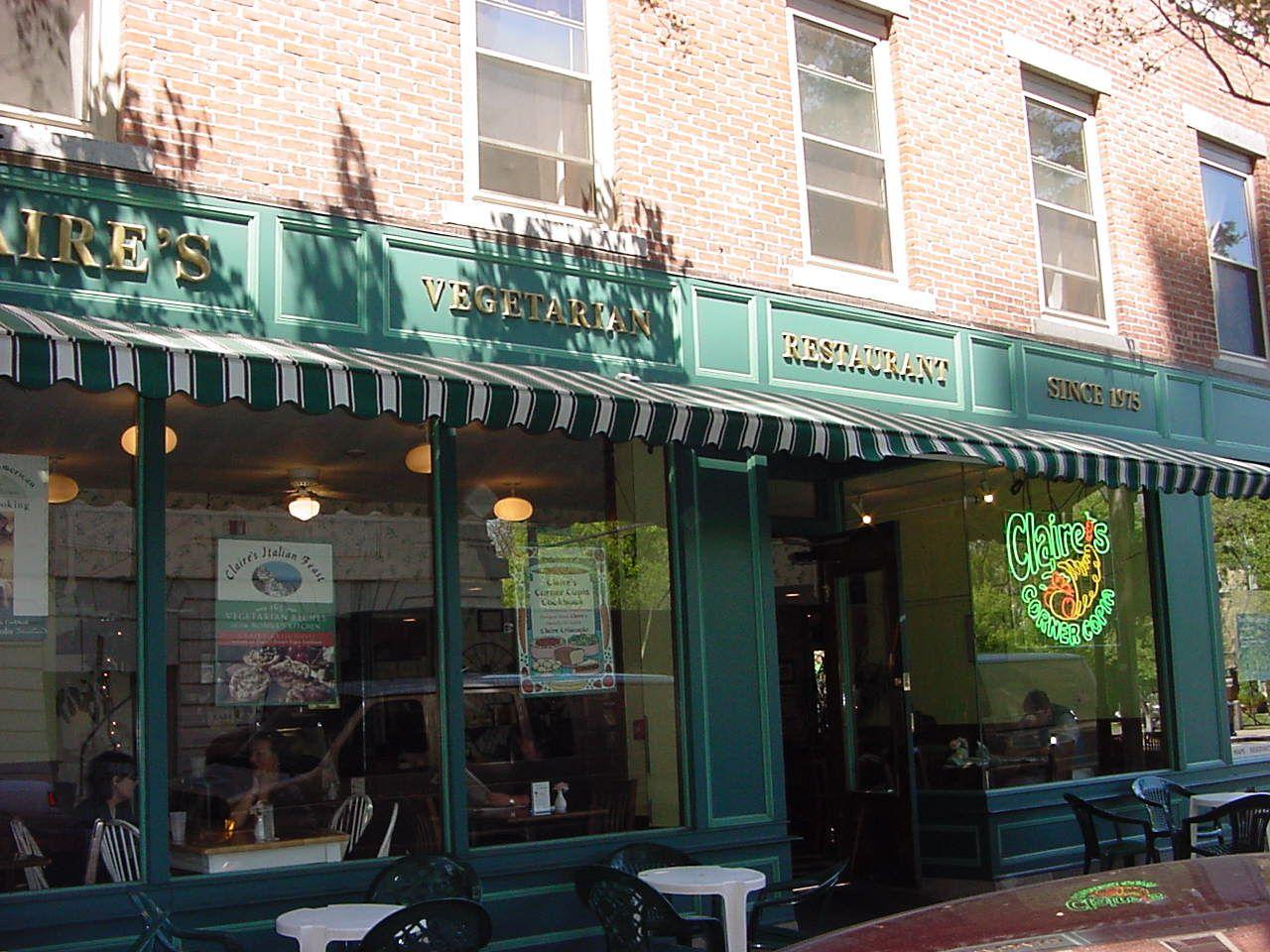 Claires Corner Copia Vegetarian Restaurant Sustainable Organic Cookbooks Vegetarian Restaurant Worlds Of Fun Restaurant