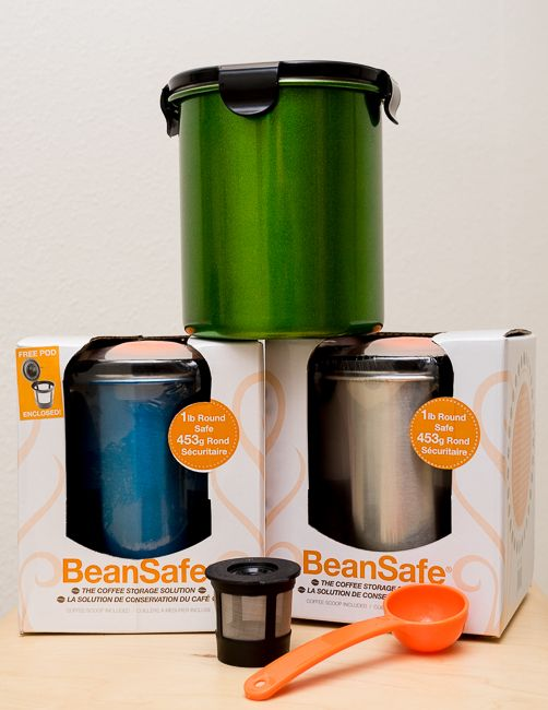 How to Store Your Coffee Beans in the Safest Way Imaginable. BeanSafe Coffee Storage Container & How to Store Your Coffee Beans in the Safest Way Imaginable ...