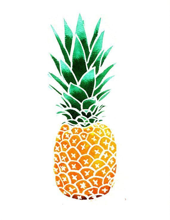 pineapple clipart by marieluney on palms pinteres rh pinterest com pineapple clip art cutouts pineapple clip art free