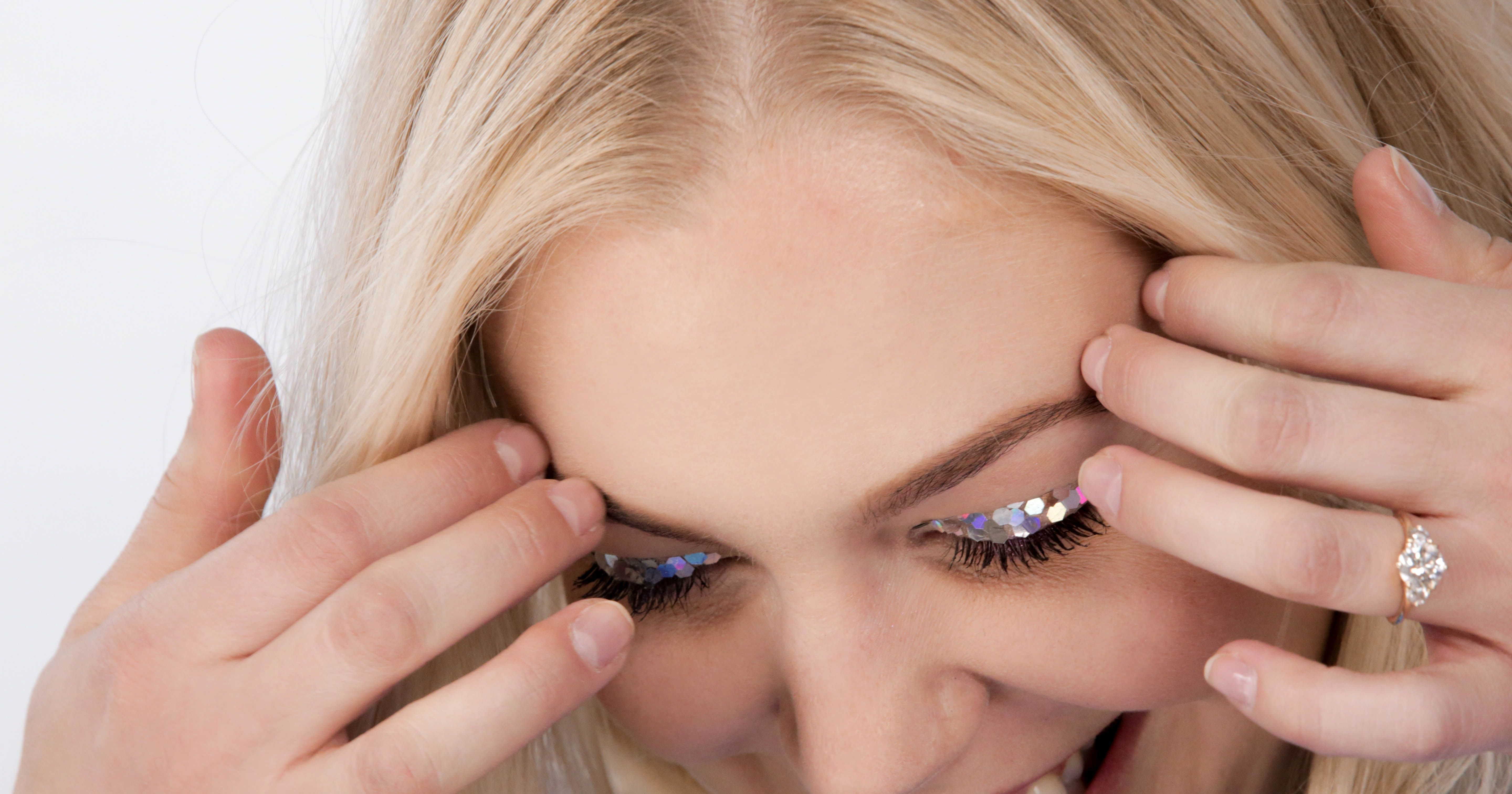 New Years may have been over a month ago but that doesn't mean we're stashing our glitter.
