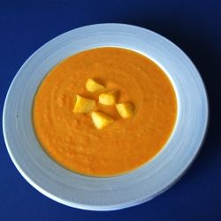 Roasted Carrot and Parsnip Soup by SeasonalSavory