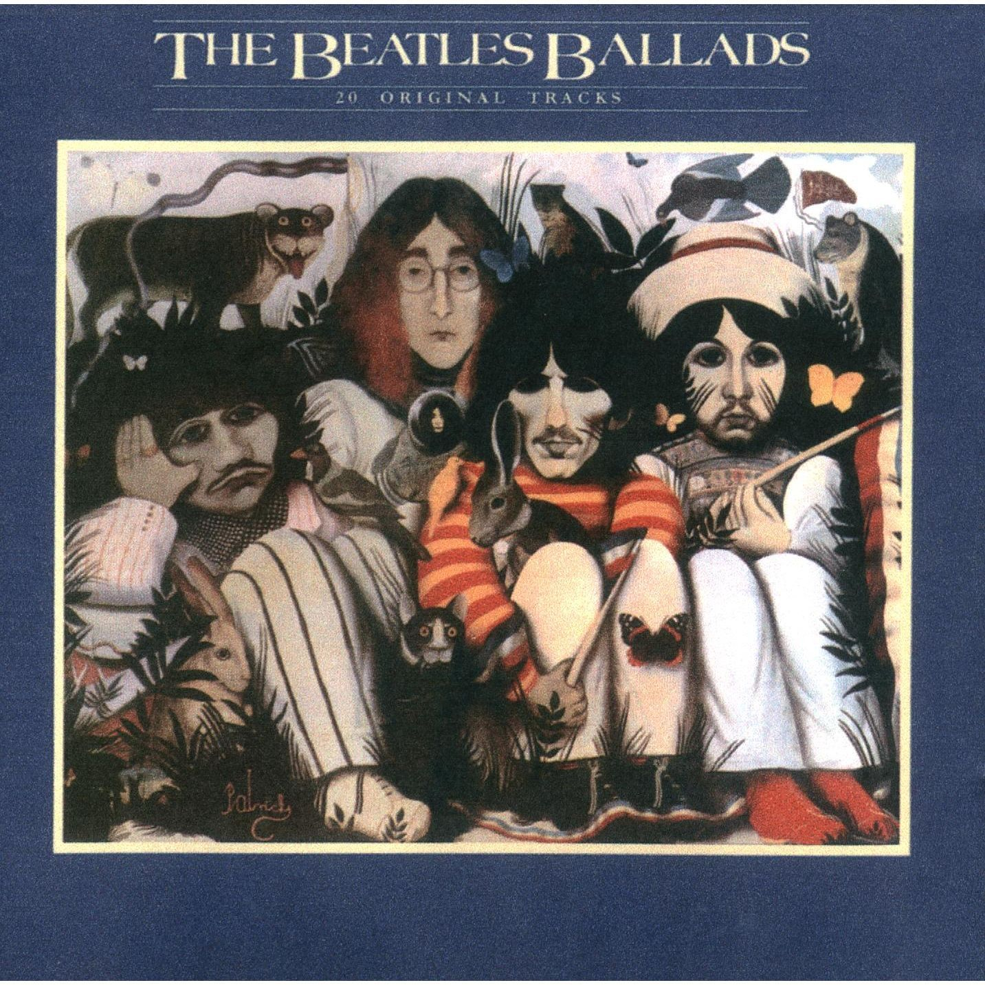All Beatles Album Covers The Beatles Ballads The
