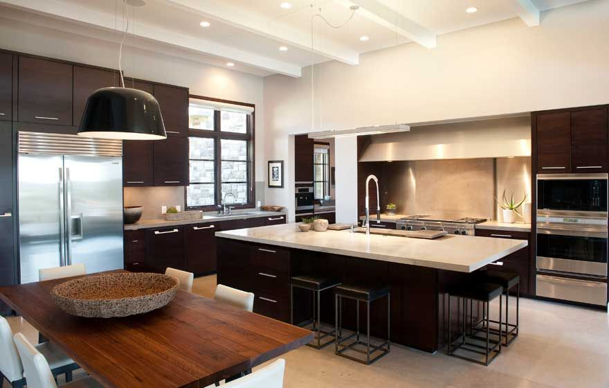 Aries Kitchen In Rift White Oak Cabinet Gallery Custom Kitchens Home Remodeling Contractors Elegant Kitchens