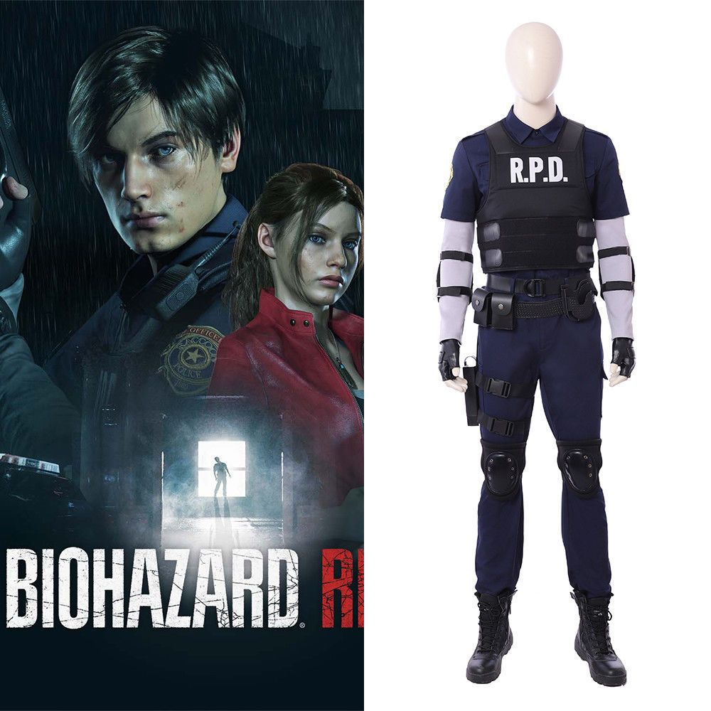 Ebay Sponsored Resident Evil 2 Remake Biohazard Re 2 Leon Scott