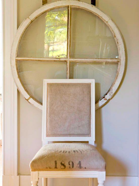 Window Wall Art vintage wall art inspiration | barn windows, feed sacks and