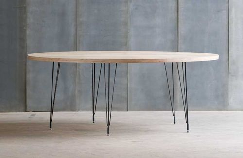 Table Ronde Contemporaine En Bois Et M Tal Sputnik Archiexpo Home Pinterest Table