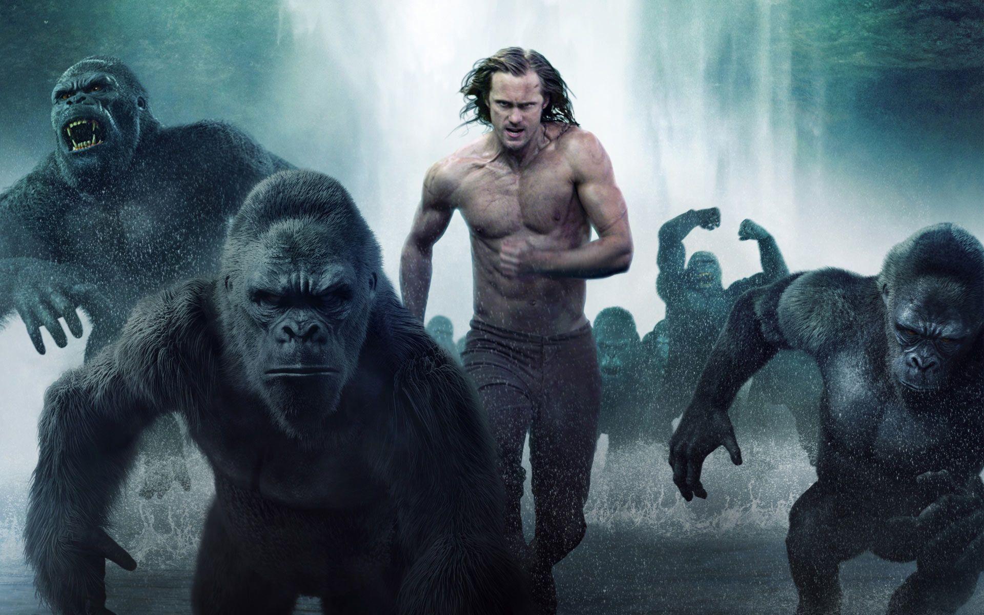 Papel De Parede Gratis De Filmes A Lenda De Tarzan Veja Mais
