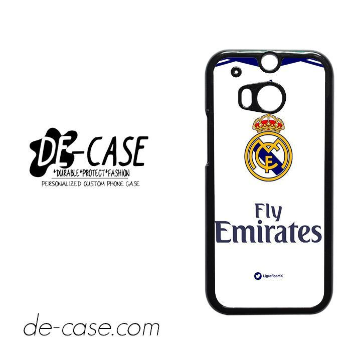 Real Madrid Jersey 4 For HTC One M8 Case Phone Case Gift Present YO