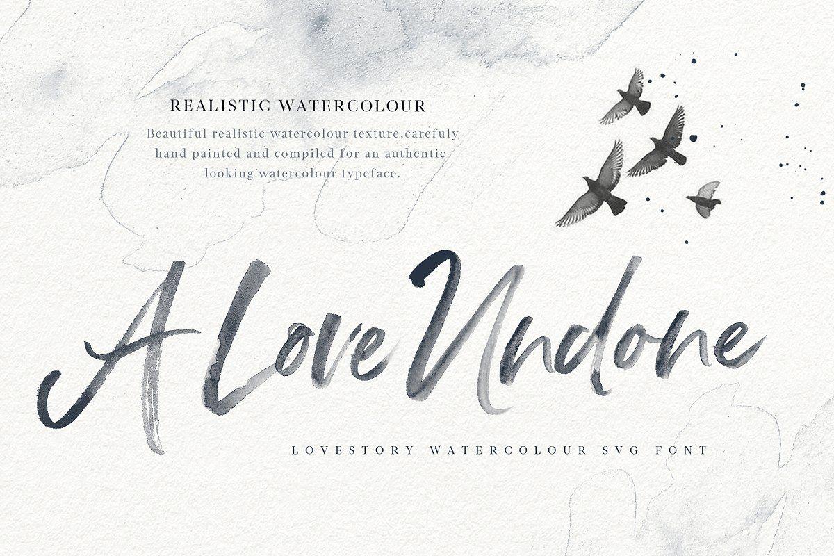 Watercolor Calligraphy Watercolor Calligraphy Watercolor