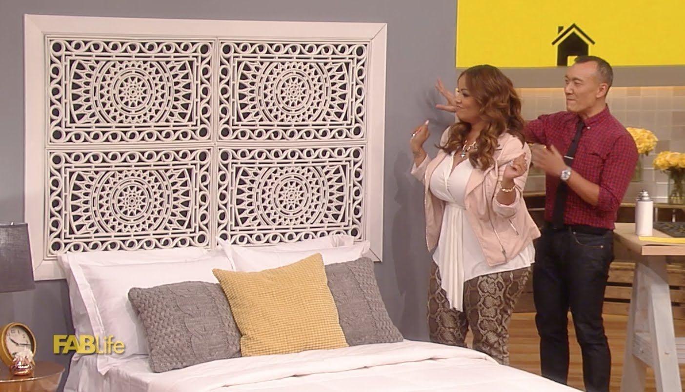 Lauren Makku0027s Affordable Headboard Upgrade Gummi Fußmatte, Erschwingliche  Betten, Schöne Zuhause, Selbstgemachte Kopfteile
