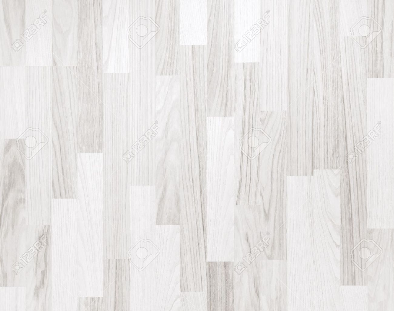 White Parquet Floors