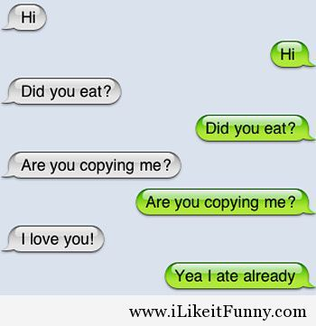 flirtatious text jokes Text flirting is a lot easier when you know the do's and don'ts if you're not sure about what and what not to text, here are some general guidelines.