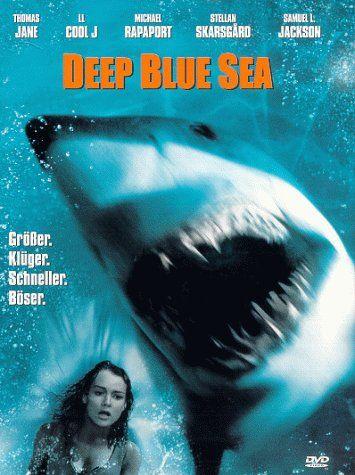 Deep Blue Sea 1999 Usa Australia Imdb Rating 5 7 62 546 Darsteller Thomas Jane Deep Blue Sea Movie Deep Blue Sea 1999 Deep Blue Sea