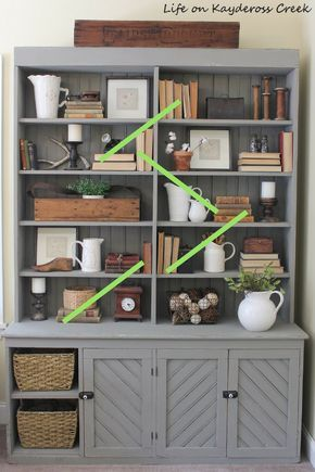 10 Tips For Decorating Shelves Like a Pro images