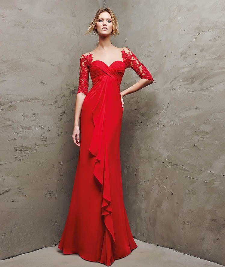 LANDETA Vestidos fiesta Pinterest Ceremonia 2016, Vestido de