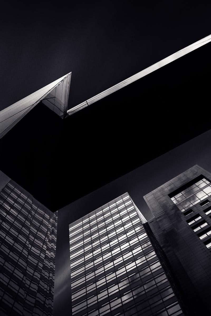 Black City Buildings