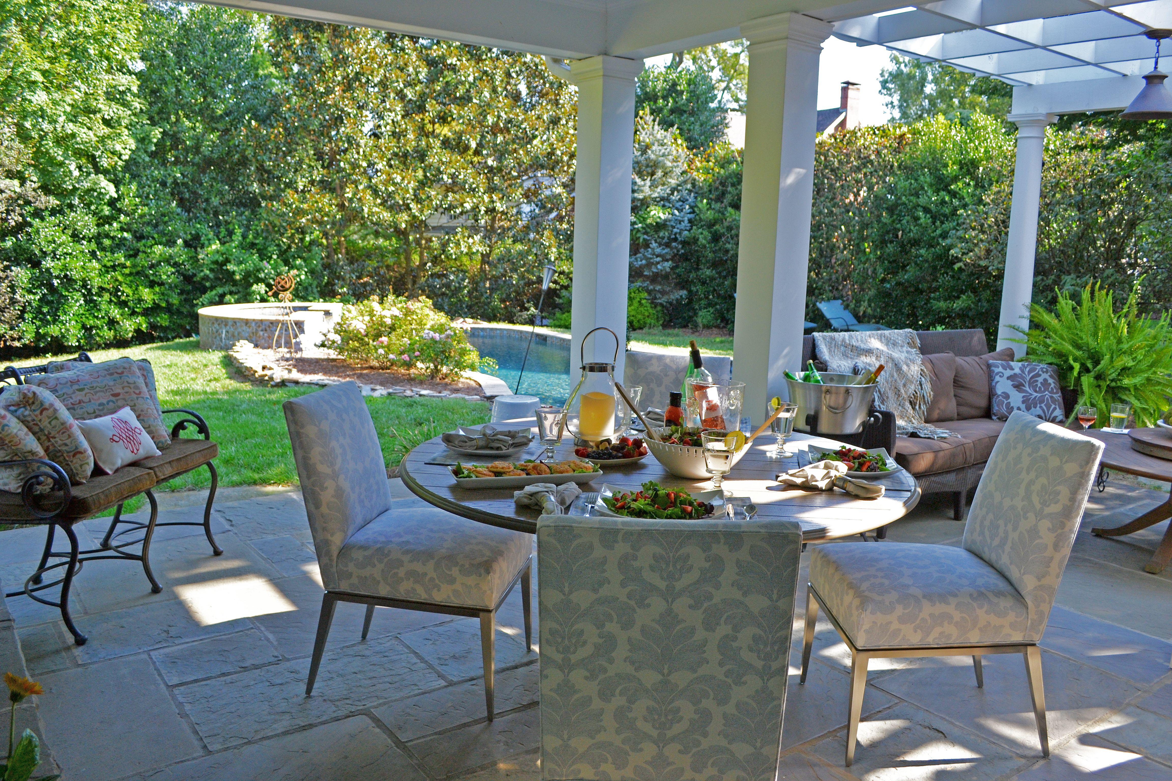 Pin By Designmaster Furniture On Veranda Dining Covered Outdoor Area Outdoor Decor Patio