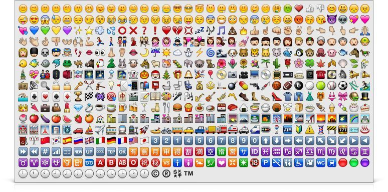 Cell Phone Emoticon Symbols Tags Cell Phone Japan Japanese