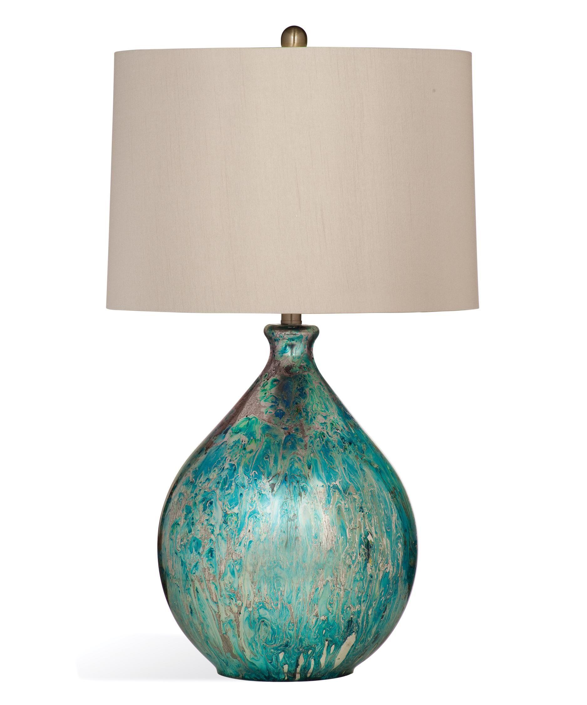 Bassett Mirror Company L3250tec Mira 31 Inch High Table Lamp Capitol Lighting 1 800lighting Com Table Lamp Lamp Mercury Glass Table Lamp