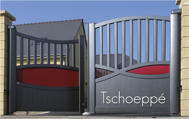 portail alu motoris moteur dissimul dans les montants. Black Bedroom Furniture Sets. Home Design Ideas