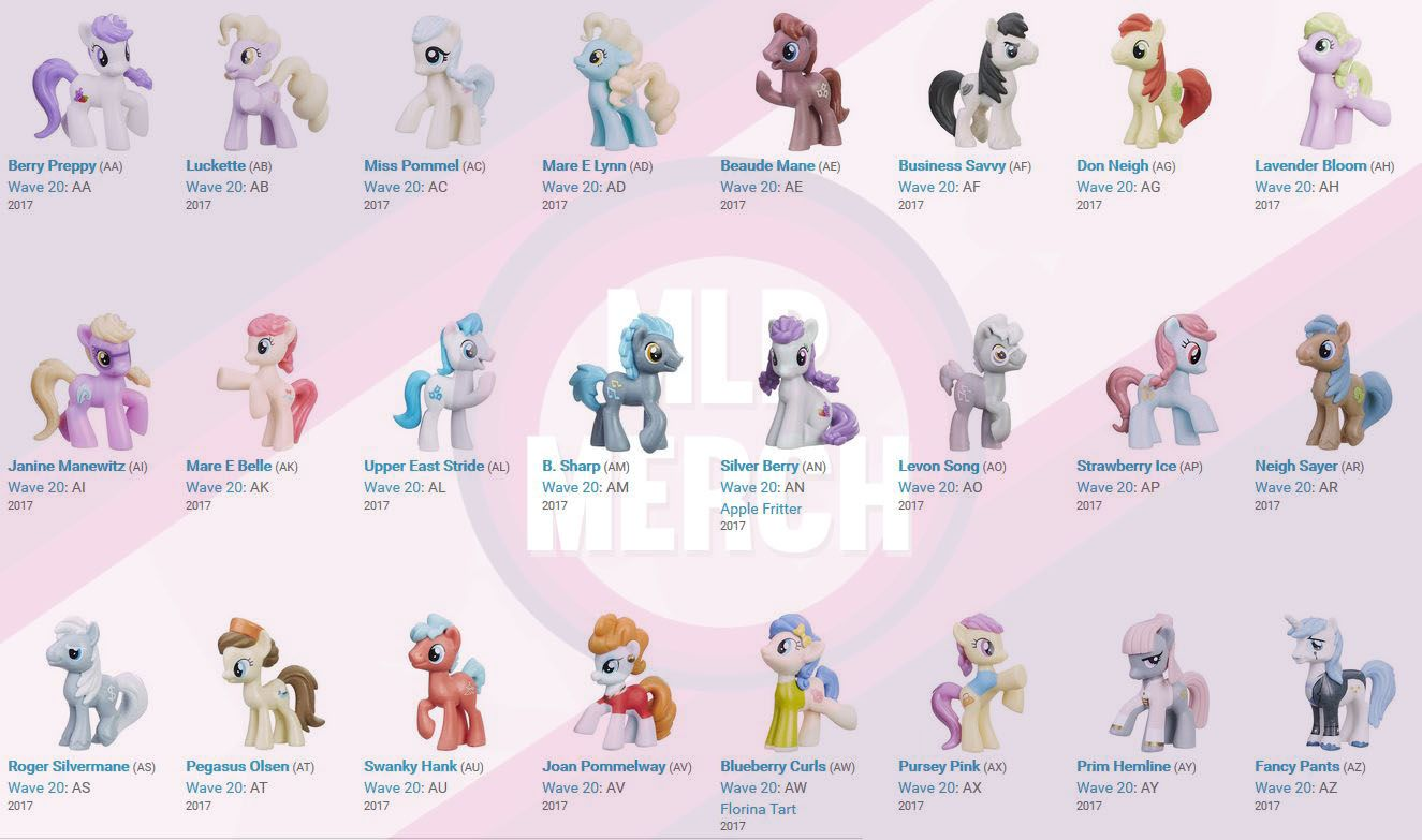 All Wave 20 Blind Bags Wishlist Toys And Knick Knacks Waves