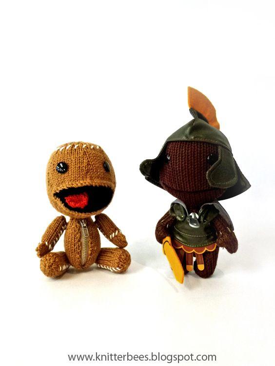 knitterbees: Little Big Planet Sackboy | Knitting | Pinterest