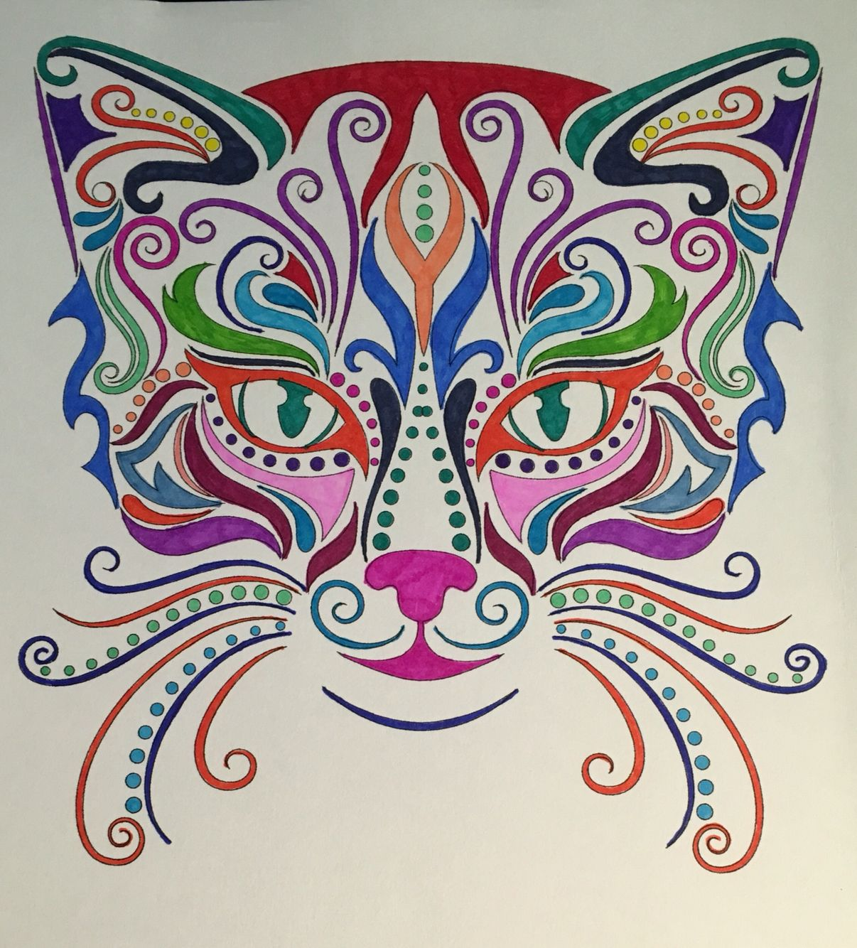 Bd Illustration Cats Coloring For Mindfulness Found At Barnes