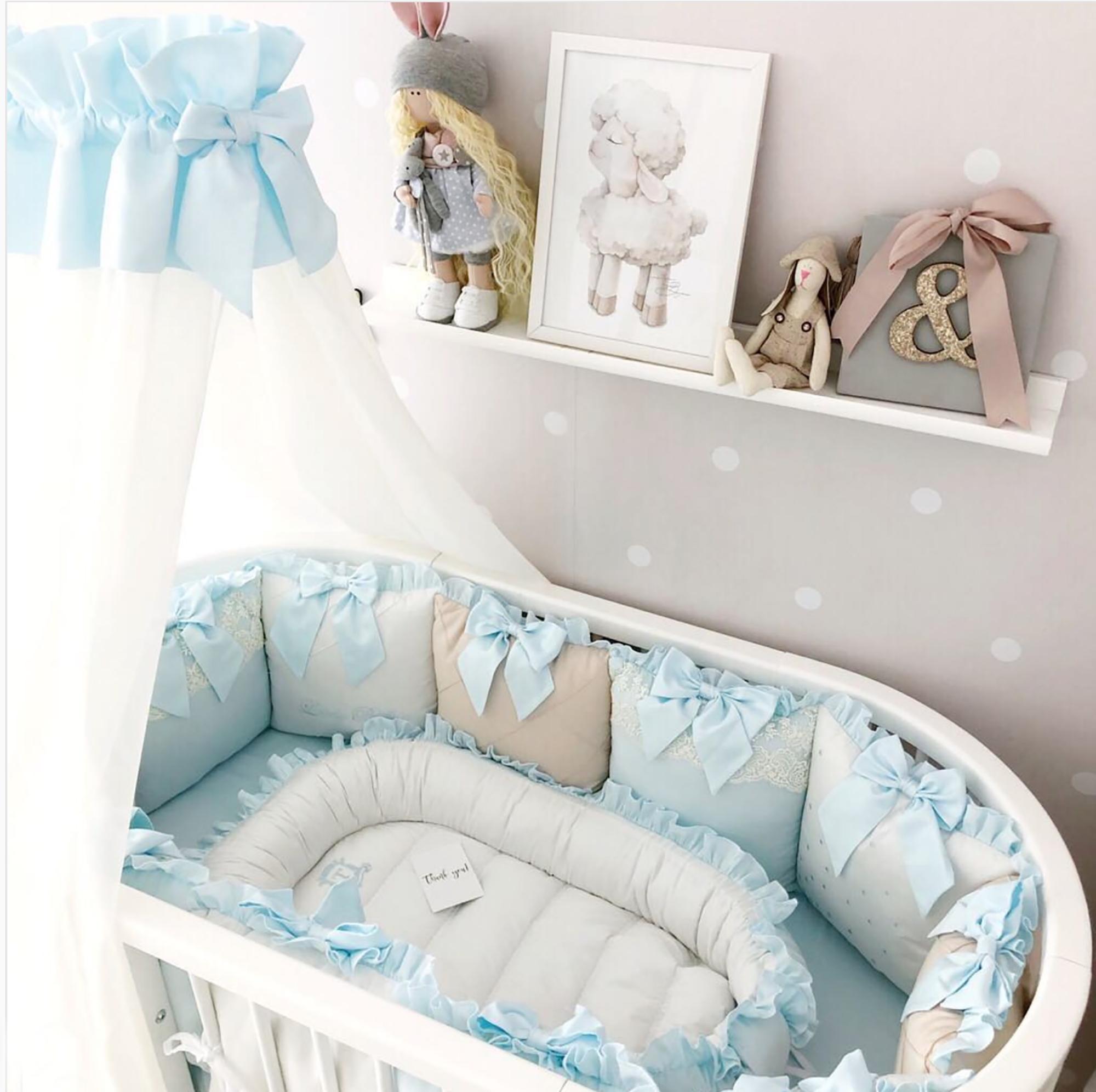 Crib Bumper For Baby Boy Crib Bumper Pillow Set Crib Bumper Pads