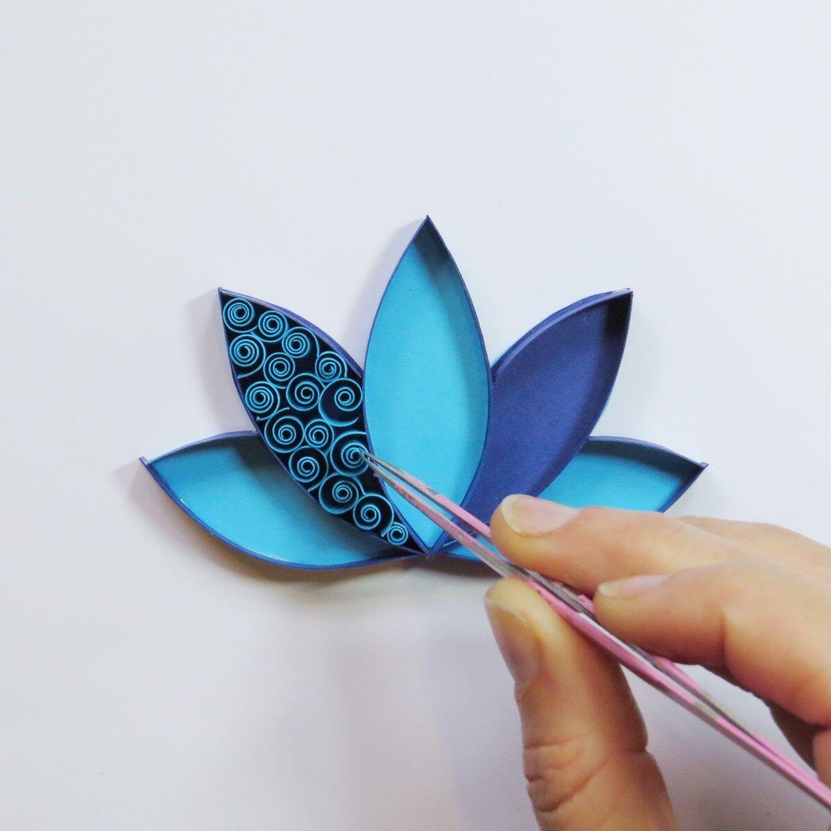 Photo of Papier Origami Schritt für Schritt Blume | Papier Origami Schritt für Schritt