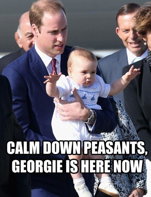 Royal Family Memes Google Search Prince George Kate Middleton Prince William Prince William And Catherine