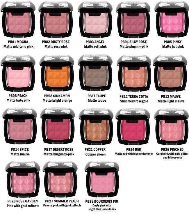 Nyx Powder Blush Choose Color Beauty On A Budget Makeup Nyx