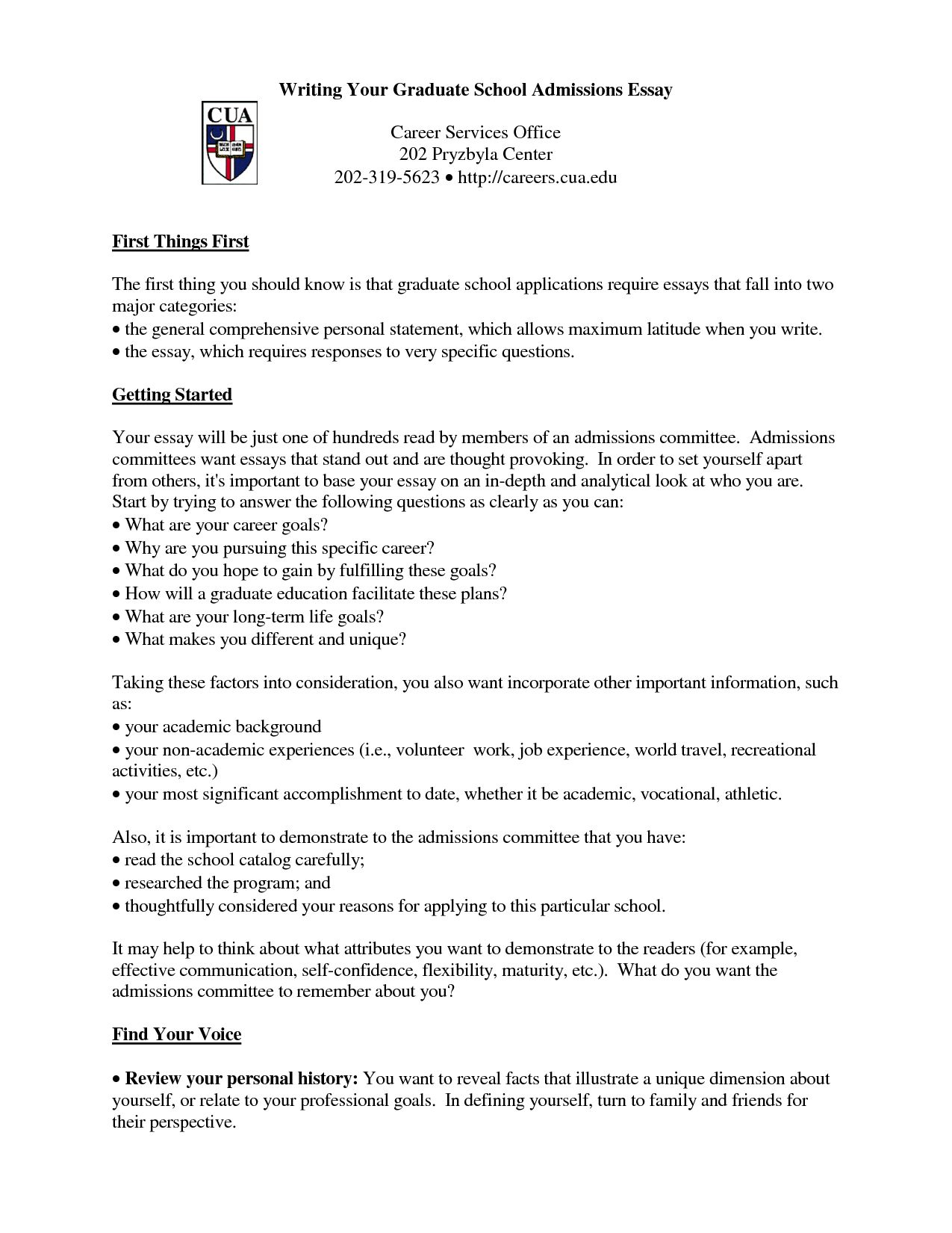 Graduate school admission cover letter