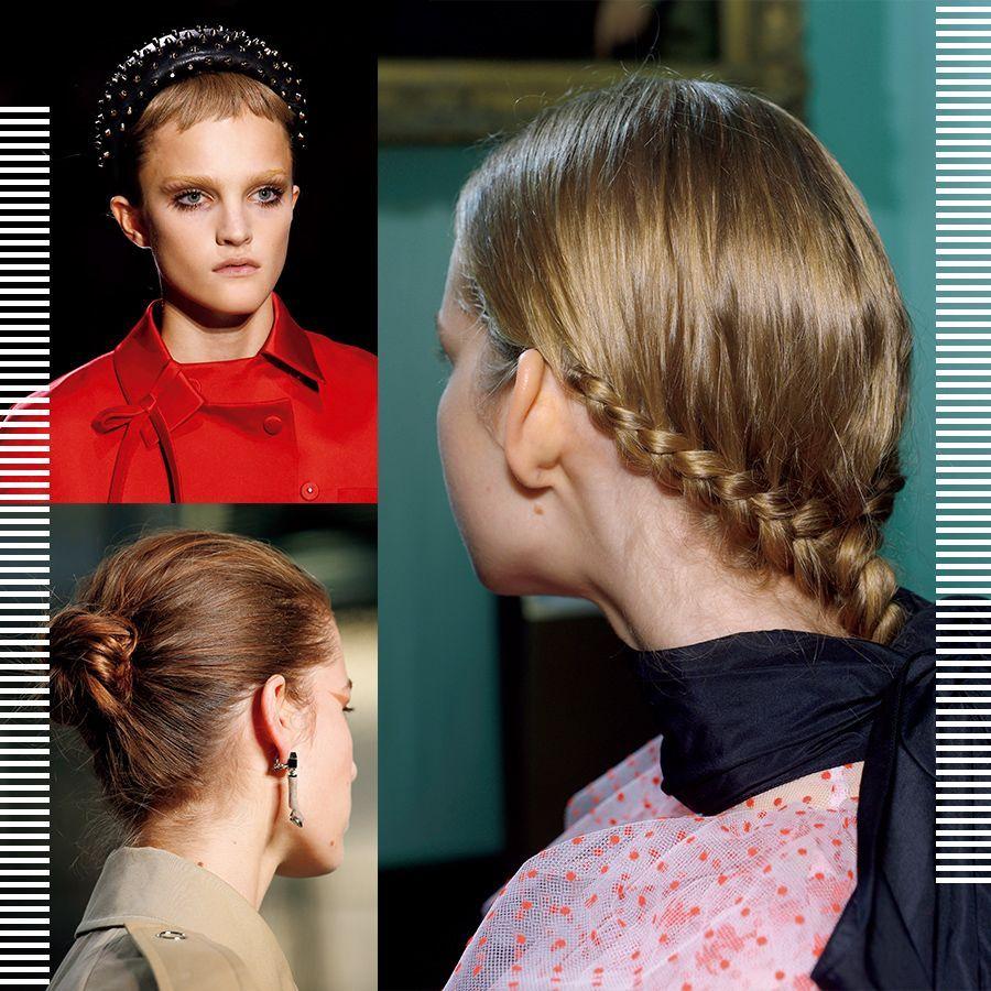 ランウェイ発 シャープなまとめ髪で モード化アレンジ 美容