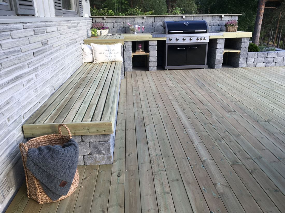 Photo of Slik bygger du utekjøkken  – Byggmakker