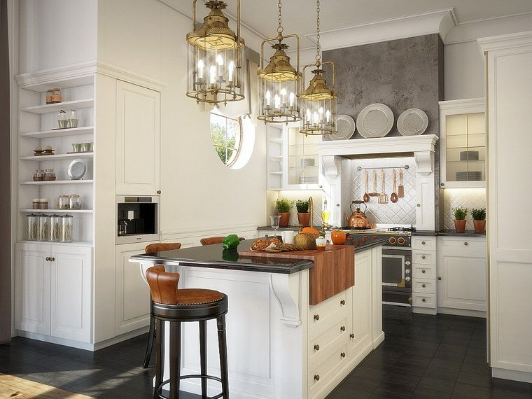 Cocina americana idea para dise ar un espacio for Muebles para cocina americana pequena