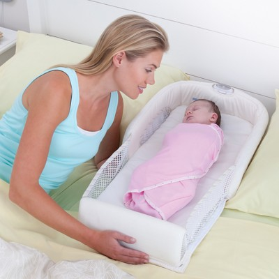 The First Years Close Amp Secure Portable Infant Sleeper